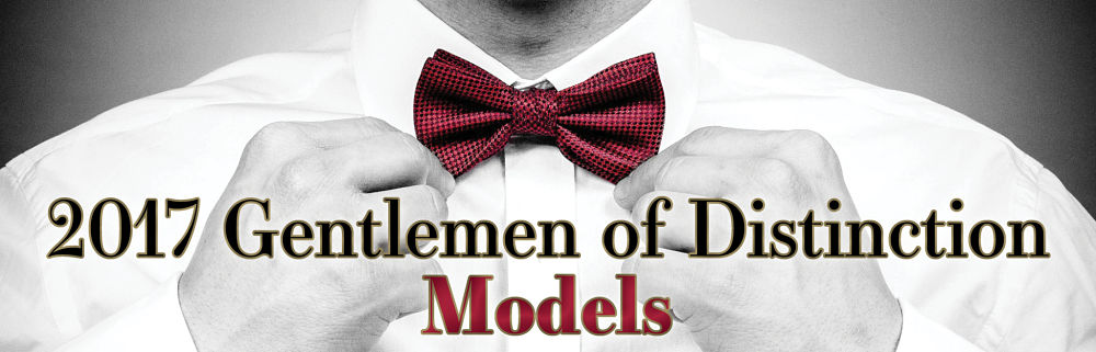 14th Annual Gentlemen of Distinction Models Article Banner