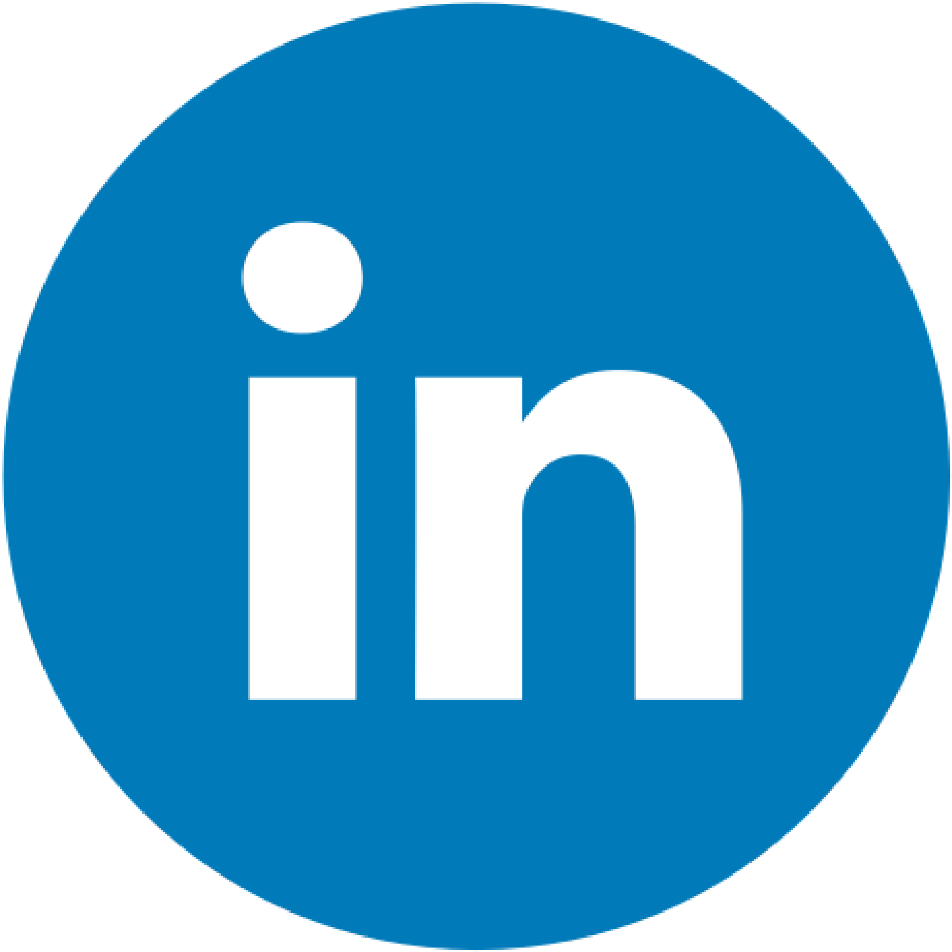 LinkedIn Circle Icon Cropped