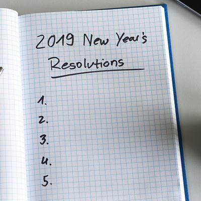 New Year's Resolution 2019 Article Image